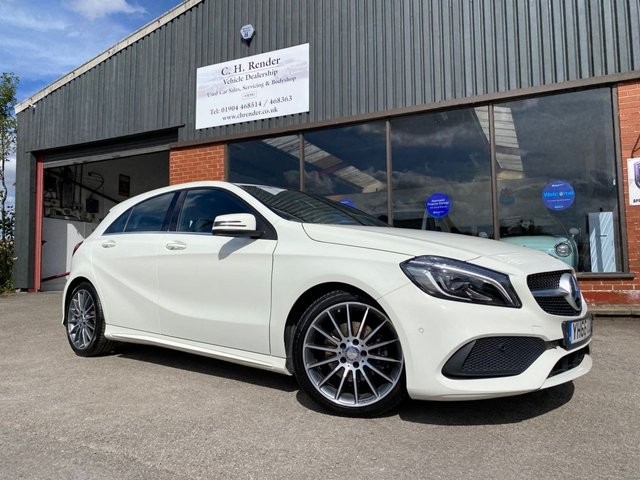 USED 2016 66 MERCEDES-BENZ A-CLASS 1.5 A 180 D AMG LINE PREMIUM PLUS 5d 107 BHP GREAT SPEC VEHICLE, MANY EXTRAS, SAT NAV, PAN ROOF, APPLE CAR PLAY, LED LIGHTS, REVERSING CAMERA, PREMIUM PLUS PACK