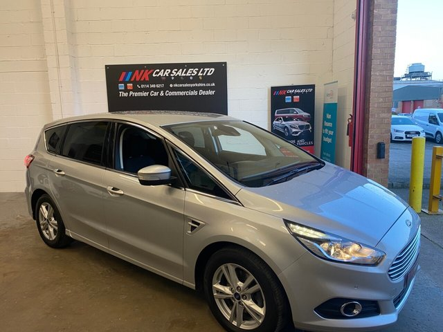 USED 2017 17 FORD S-MAX 2.0 TITANIUM TDCI 5d 148 BHP 7SEATS NOW IN STOCK  7 SEATS