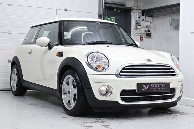 2008 08 MINI HATCH COOPER 1.6 COOPER D 3d 108 BHP