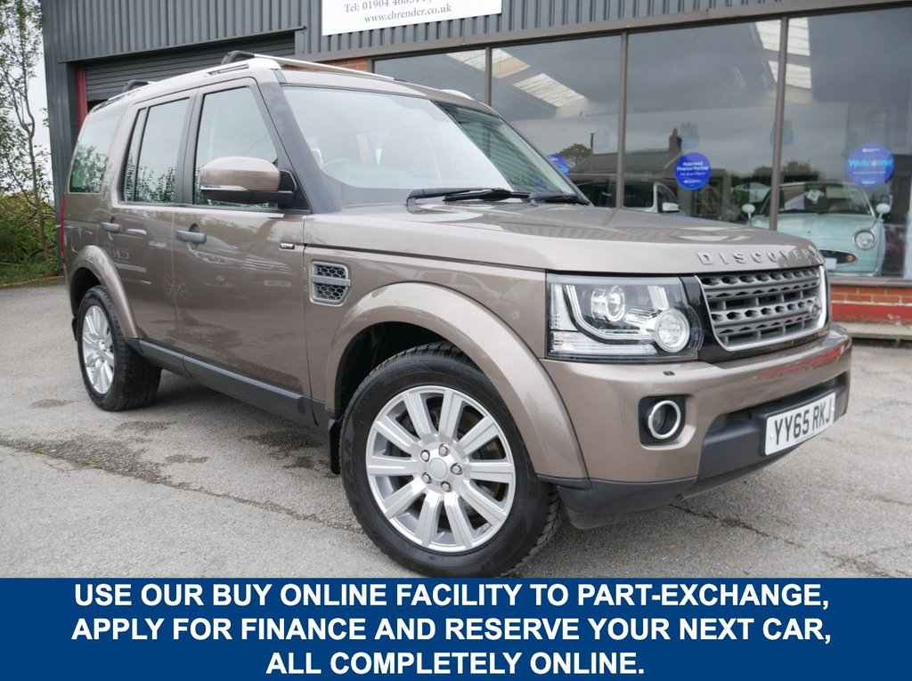 USED 2015 65 LAND ROVER DISCOVERY 3.0 SDV6 SE 5d 255 BHP CLICK & COLLECT ONLINE AT C H RENDER.