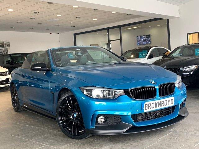 USED 2017 17 BMW 4 SERIES 2.0 420D M SPORT 2d 188 BHP BM PERFORMANCE STYLING+6.9%APR