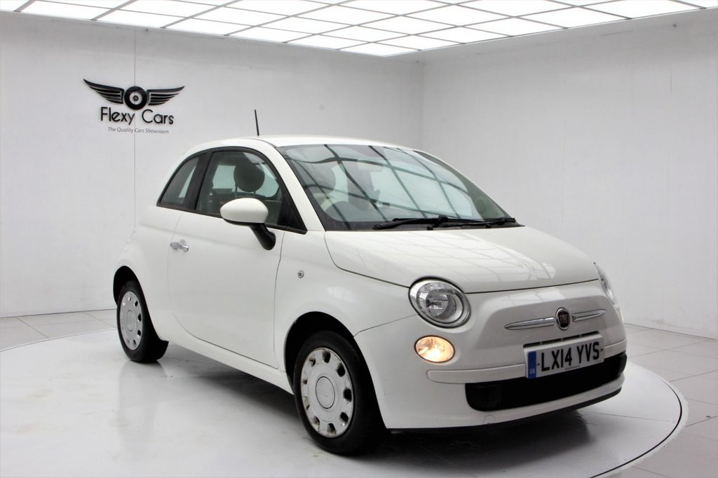 USED 2014 14 FIAT 500 1.2 POP DUALOGIC 3d 69 BHP