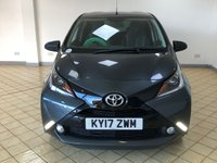USED 2017 17 TOYOTA AYGO 1.0 VVT-I X-CLUSIV 3 5d Petrol Manual Hatchback. Recent Service plus MOT and 2 New Tyres now Ready to Finance and Drive Away Today A FANTASTIC HATCHBACK WITH MORE THAN MEETS THE EYE! ONE FORMER KEEPER AND A GOOD SERVICE HISTORY