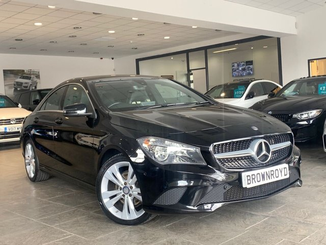 USED 2015 64 MERCEDES-BENZ CLA 2.1 CLA200 CDI SPORT 4d 136 BHP FSH+6.9% APR AVAILABLE+