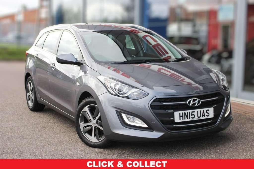 "USED 2015 15 HYUNDAI I30 1.6 CRDI SE BLUE DRIVE 5d 109 BHP £20 TAX, 16"" ALLOYS, CRUISE & BLUETOOTH"