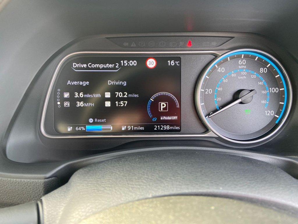 USED 2019 69 NISSAN LEAF 0.0 TEKNA 5d 148 BHP Range 189 miles