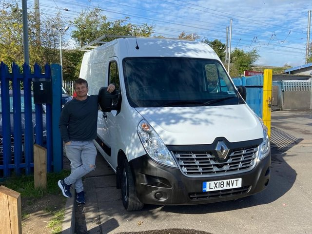 2018 18 RENAULT MASTER 2.3 LM35 BUSINESS ENERGY DCI 110 BHP