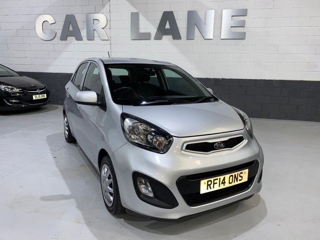 USED 2014 14 KIA PICANTO 1.0 1 AIR 5d 68 BHP