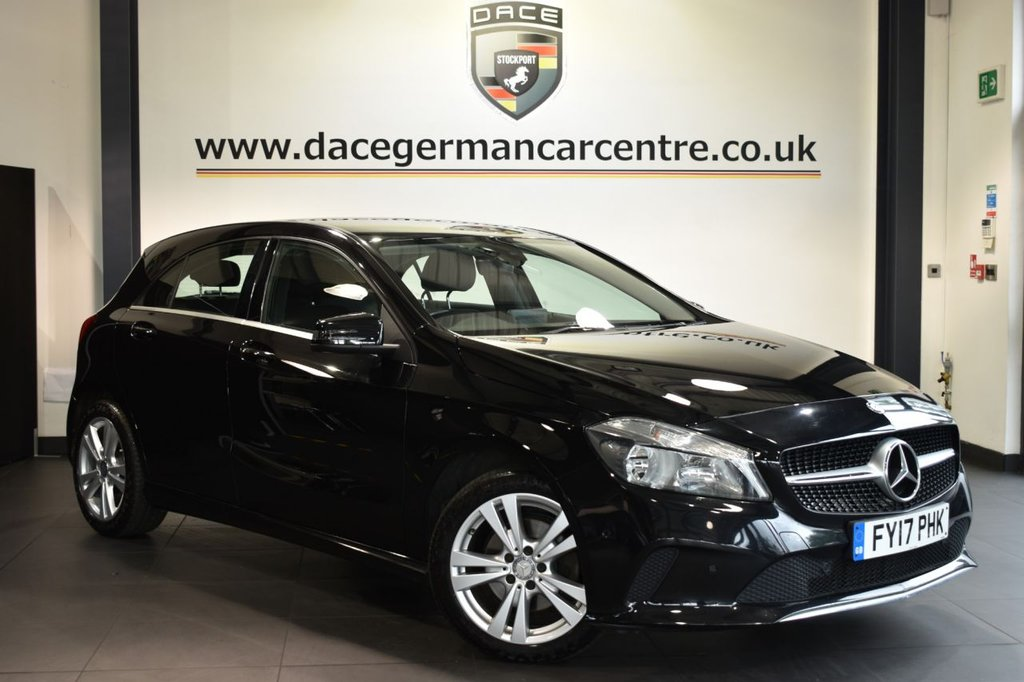 USED 2017 17 MERCEDES-BENZ A-CLASS 2.1 A 200 D SPORT EXECUTIVE 5DR 134 BHP FULL HISTORY + LEATHER + HEATED SEATS + CRUISE