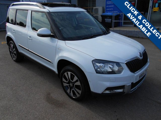USED 2015 15 SKODA YETI 1.8 OUTDOOR LAURIN AND KLEMENT TSI 5d 158 BHP **FULL SERVICE HISTORY**