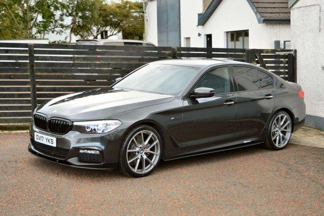 2017 17 BMW 5 SERIES 2.0 520D M SPORT 4d 188 BHP