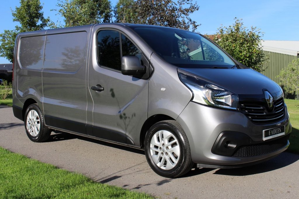 USED 2016 65 RENAULT TRAFIC 1.6 SL27 SPORT ENERGY DCI S/R P/V 120 BHP TOP SPEC - SPORT ENERGY - GREY - JUST ARRIVED -