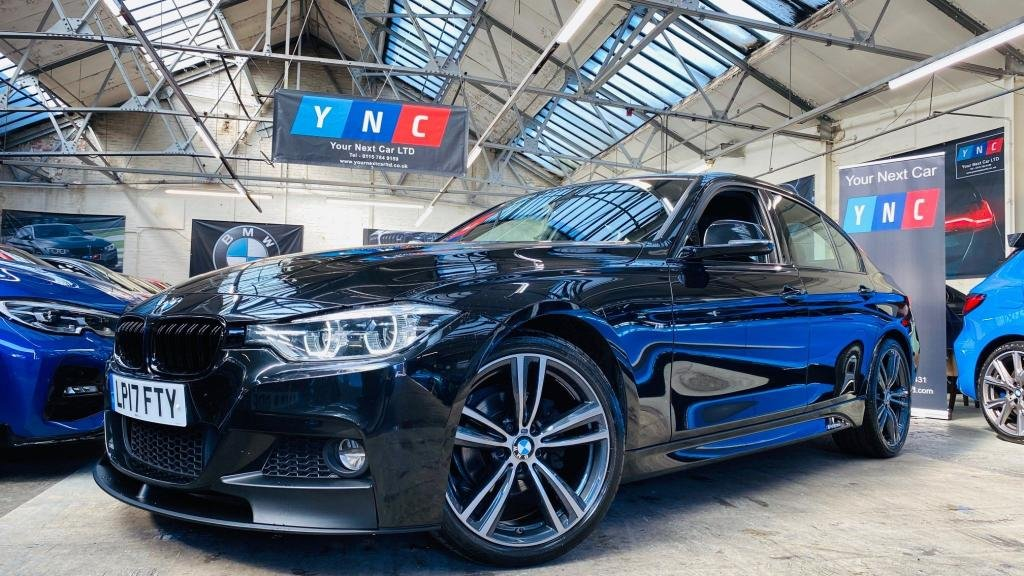 USED 2017 17 BMW 3 SERIES 2.0 318d M Sport Auto (s/s) 4dr PERFORMANCEKIT+19S+LEDHEADLTS