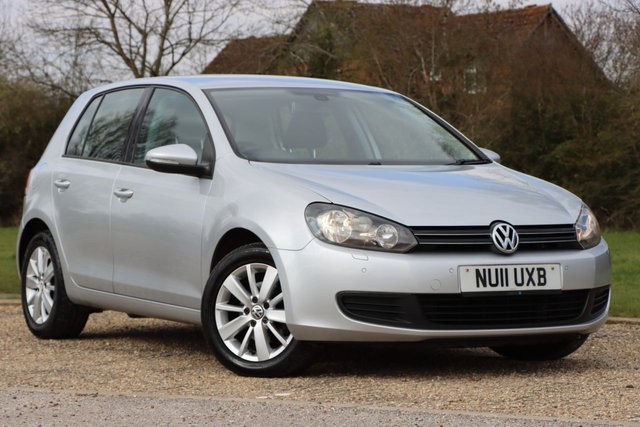 USED 2011 11 VOLKSWAGEN GOLF 1.6 TDI Match 5dr Fsh well maintained economical