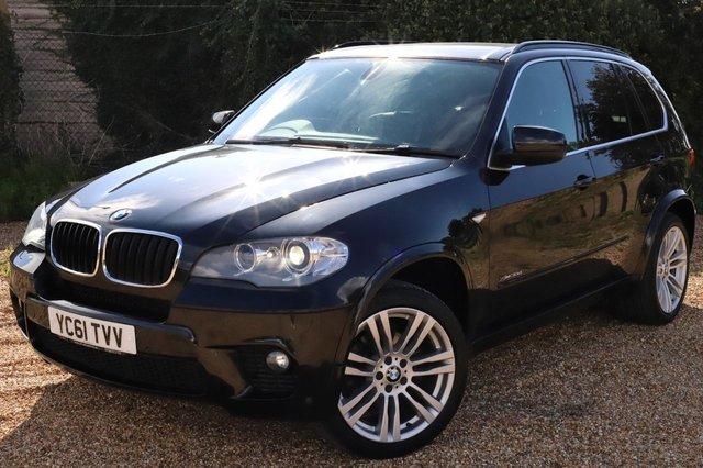 2011 61 BMW X5 3.0 XDRIVE30D M SPORT 5d 241 BHP AUTOMATIC/ 7 SEATER