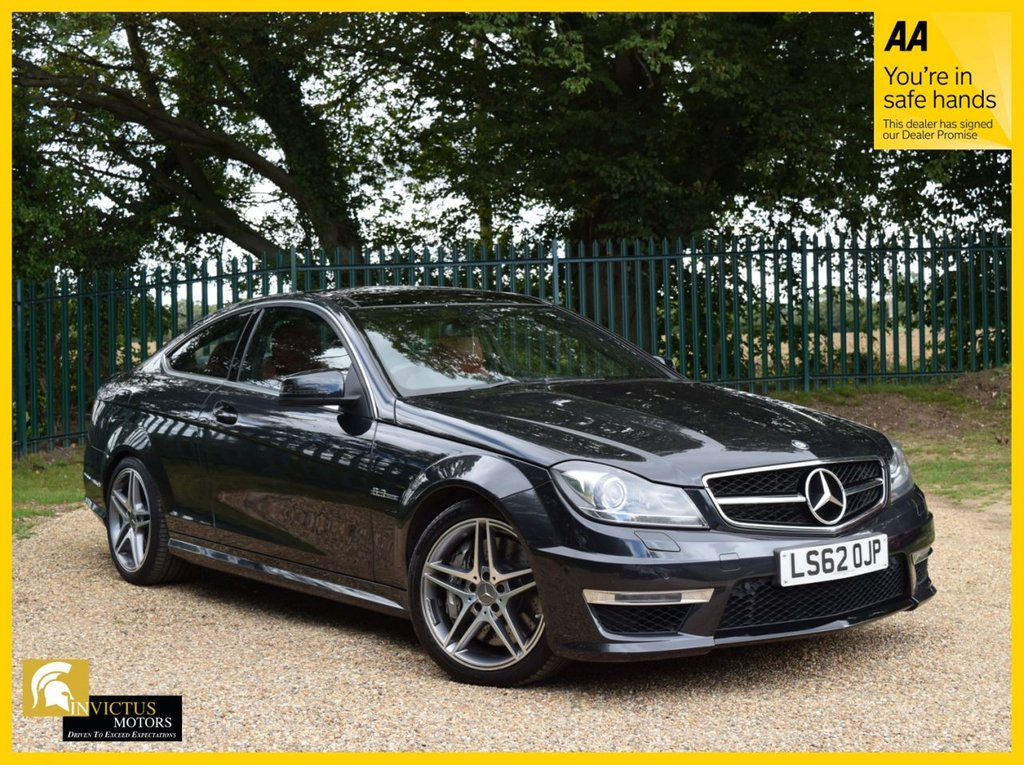 USED 2012 62 MERCEDES-BENZ C-CLASS 6.2 C63 AMG 2d 457 BHP