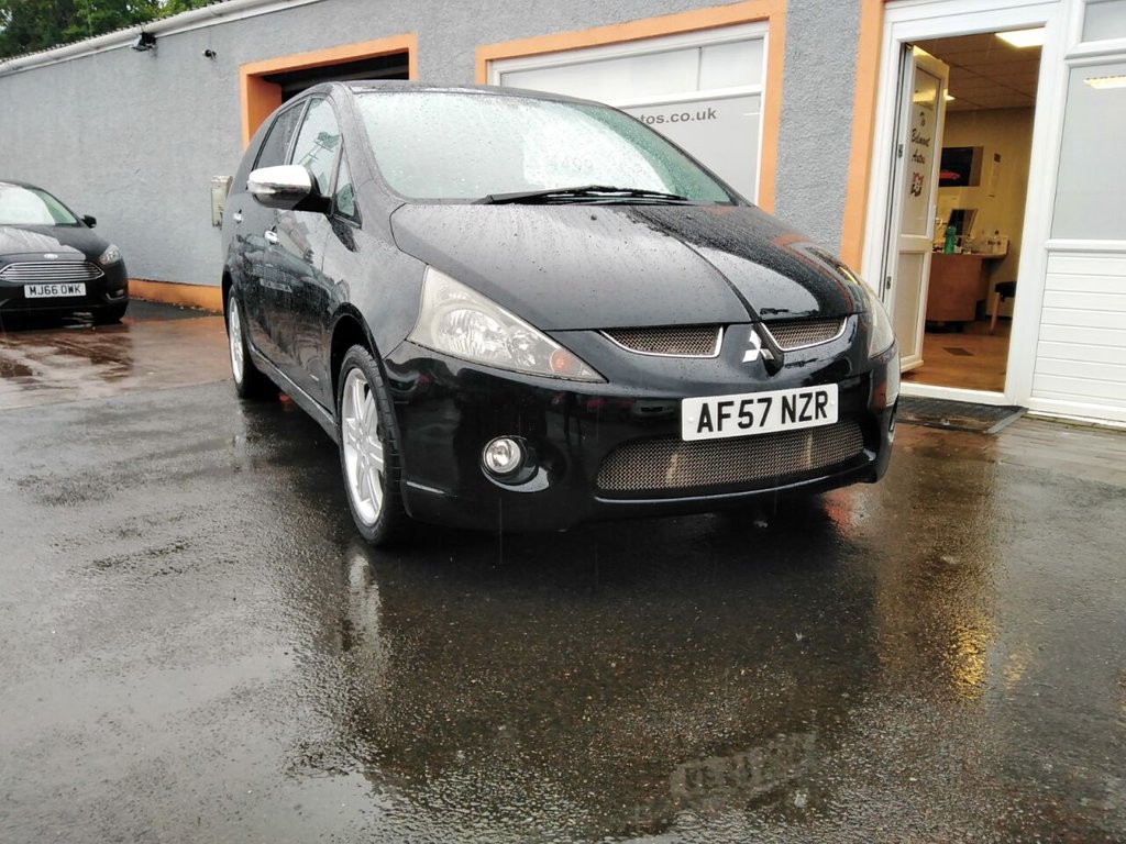 USED 2007 57 MITSUBISHI GRANDIS 2.0 WARRIOR DI-D 5d 135 BHP 7 seater, Leather, Parking Sensors, Rear Entertainment Package, Metallic, Stunning looking vehicle!!