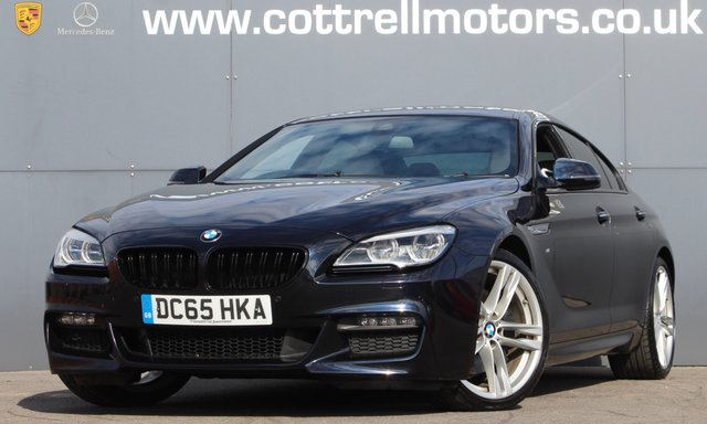 2015 65 BMW 6 SERIES GRAN COUPE 640D M SPORT GRAN COUPE 3.0 4d 309 BHP [ HUD - HARMAN K ]