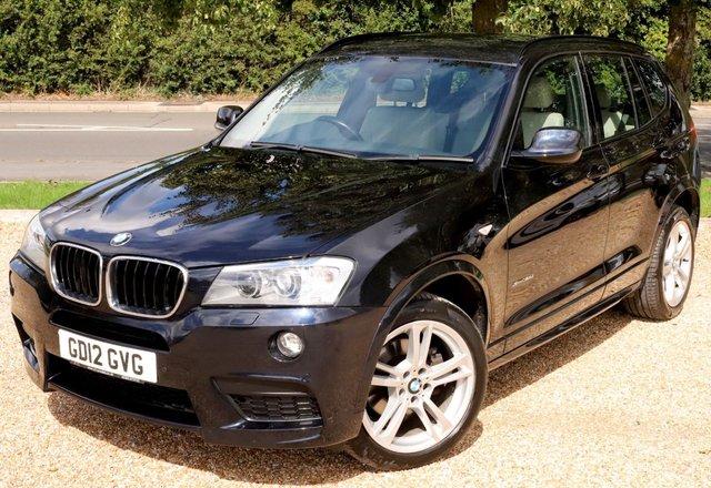 2012 12 BMW X3 2.0 XDRIVE20D M SPORT 5d 181 BHP AUTOMATIC