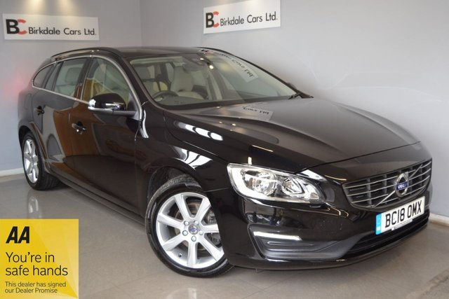 "USED 2018 18 VOLVO V60 2.0 T4 SE NAV 5d 187 BHP Stunning Vehicle - Volvo + One Private Owner - Full Volvo Service History - Satellite Navigation - Cream Leather Interior With Heated Seats - Balance Of Volvo Warranty Until 17th Of July 2021 - Climate Control - Cruise Control - DAB Radio - Parking Sensors - 17"" Alloy Wheels - Bluetooth Phone Prep - Power Steering - Electric Widows/Mirrors - USB/AUX Connectivity - Remote Locking With 2 Keys - Complimentary 12 Months AA Breakdown Cover - Independent Pre Sale 88 Point Health And Safety Check"