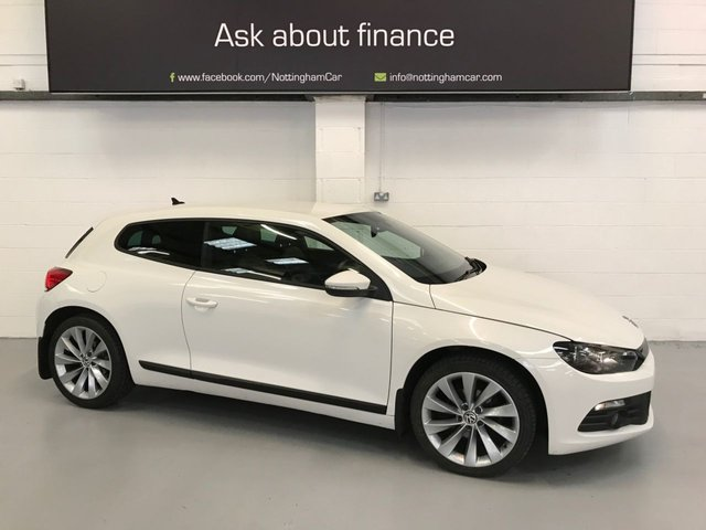 USED 2013 VOLKSWAGEN SCIROCCO 2.0 GT TDI BLUEMOTION TECHNOLOGY 2d 140 BHP