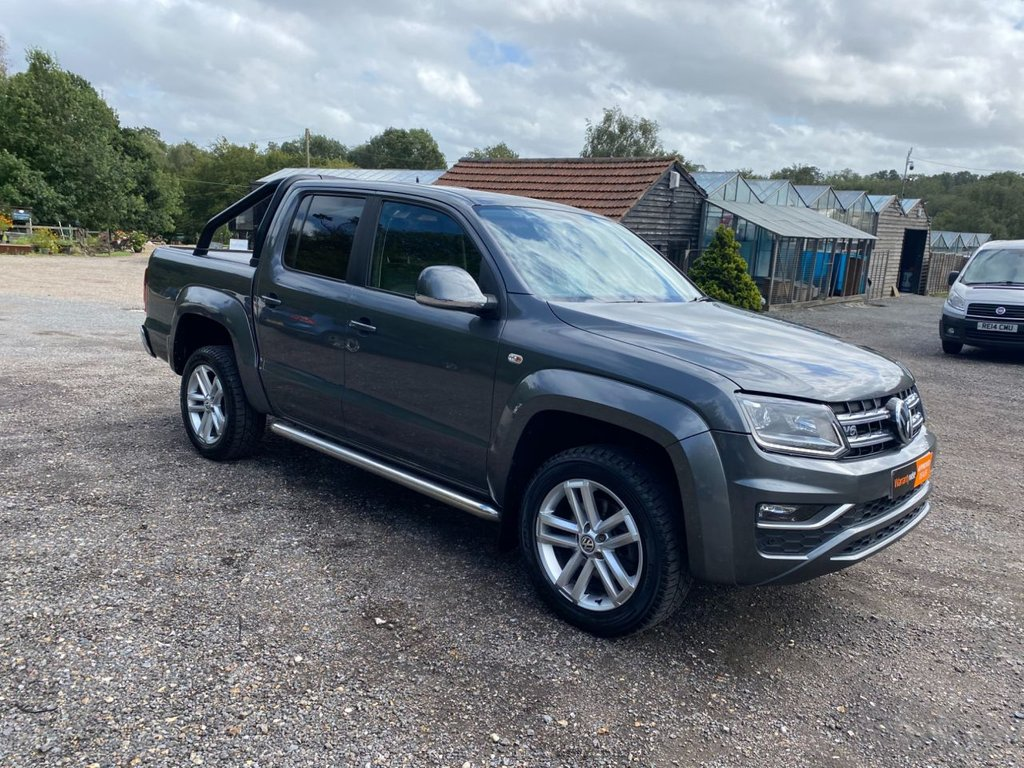 USED 2017 17 VOLKSWAGEN AMAROK 3.0 DC V6 TDI HIGHLINE 4MOTION 4X4 AUTOMATIC AUTO