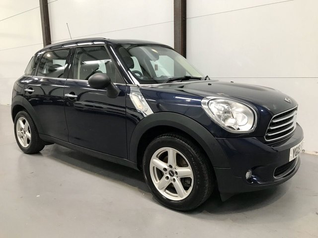 2013 13 MINI COUNTRYMAN 1.6 ONE 5d 98 BHP