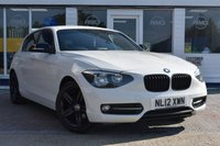 USED 2012 12 BMW 1 SERIES 1.6 116I SPORT 5d 135 BHP AVAILABLE FOR ONLY £160 PER MONTH WITH £0 DEPOSIT