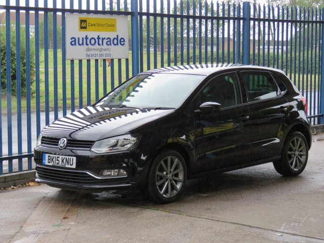 USED 2015 15 VOLKSWAGEN POLO 1.2 SE DESIGN TSI 5d 90 BHP £20 Tax & Low Insurance