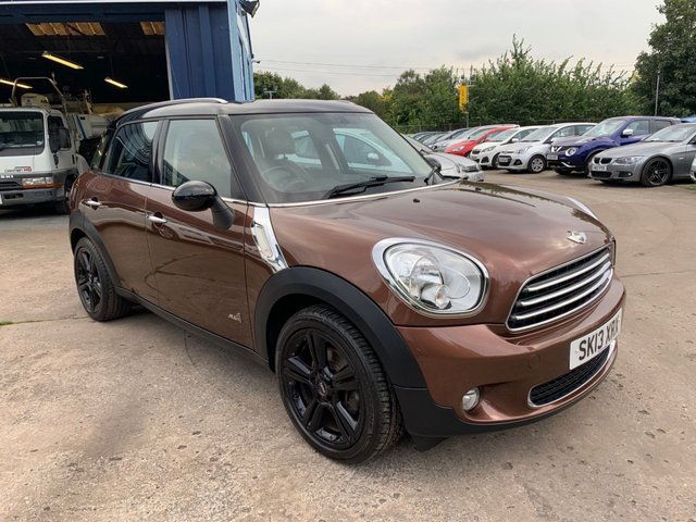 USED 2013 13 MINI COUNTRYMAN 1.6 COOPER D ALL4 5d 112 BHP SERVICE HISTORY