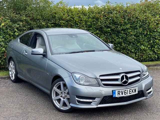 USED 2011 61 MERCEDES-BENZ C-CLASS 2.1 C220 CDI BLUEEFFICIENCY AMG SPORT ED125 2d 170 BHP SATELLITE NAVIGATION, ALLOYS