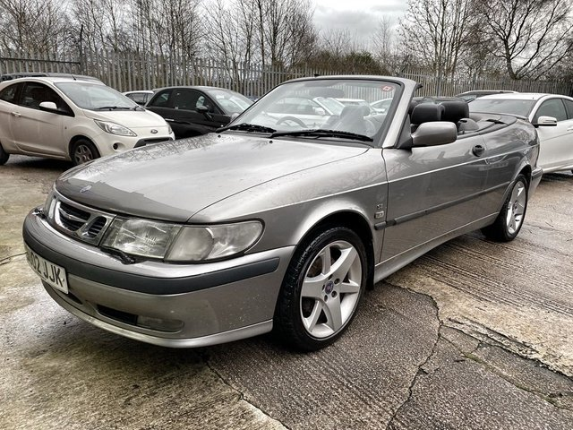 2002 02 SAAB 9-3 2.0 SE TURBO ECO 2d 154 BHP