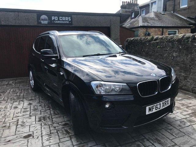 2013 63 BMW X3 2.0 XDRIVE20D M SPORT 5d 181 BHP