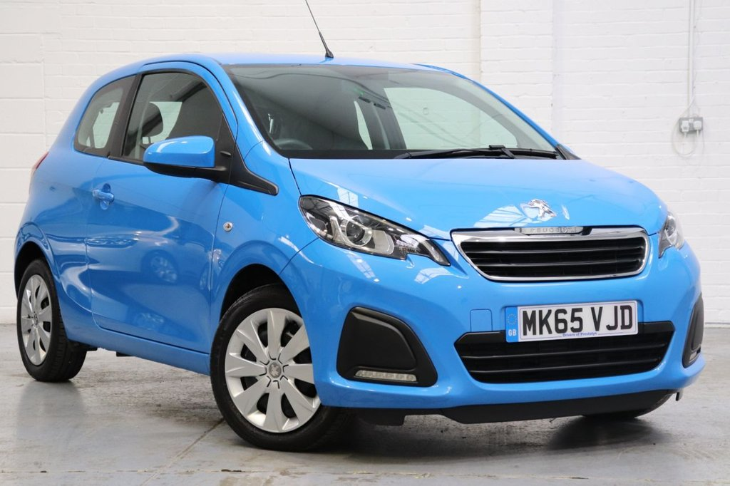USED 2015 65 PEUGEOT 108 1.0 ACTIVE 3d 68 BHP Full Peugeot Service History