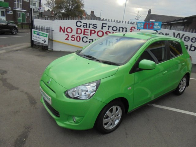 USED 2014 14 MITSUBISHI MIRAGE 1.2 3 5d 79 BHP CLICK AND COLLECT ON YOUR NEXT CAR