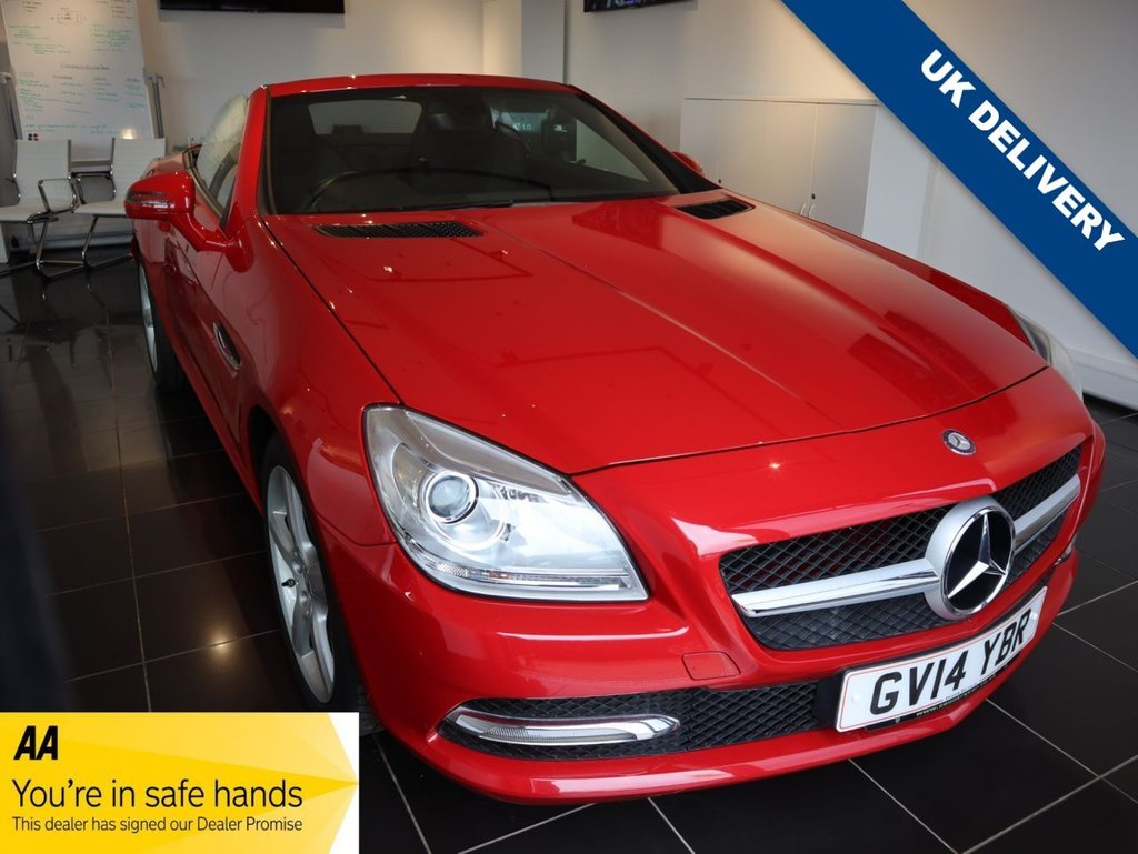 USED 2014 14 MERCEDES-BENZ SLK 2.1 SLK250 CDI BLUEEFFICIENCY 2d 204 BHP MERCEDES DIGITAL SERVICE HISTORY STUNNING