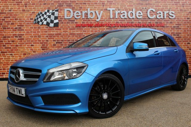 MERCEDES-BENZ A-CLASS at Derby Trade Cars