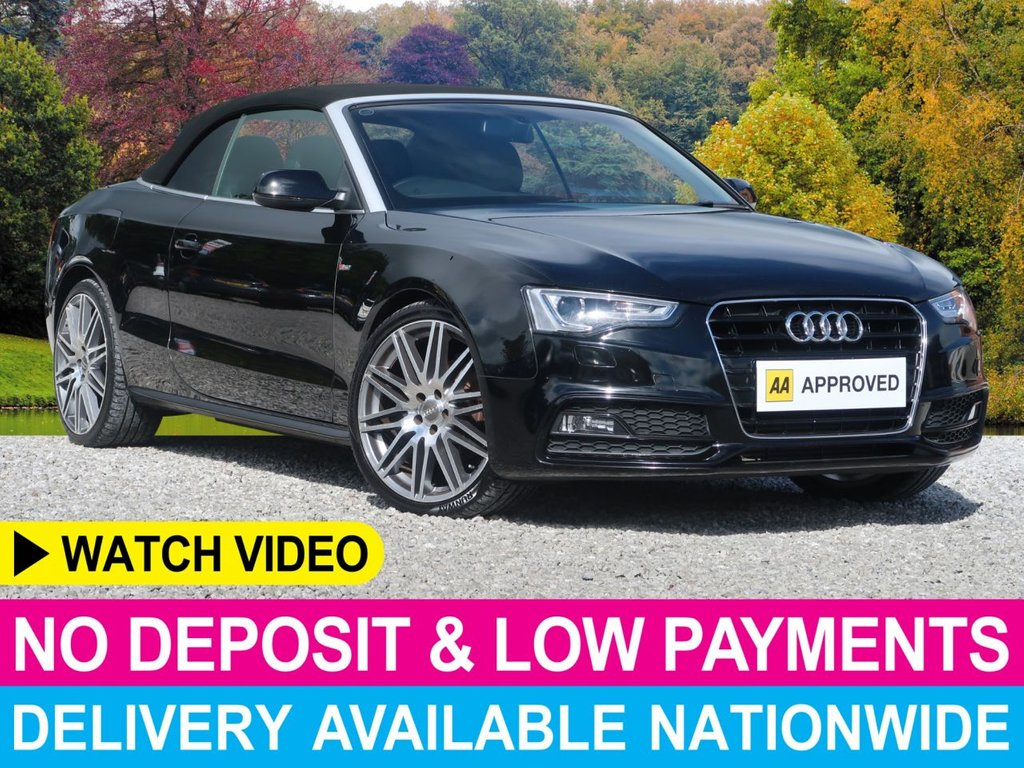 USED 2013 13 AUDI A5 2.0 TDI S-line Convertible 2dr 20