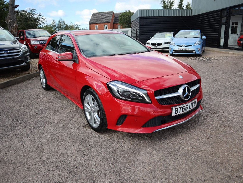 USED 2016 66 MERCEDES-BENZ A-CLASS 2.1 A 200 D SPORT PREMIUM 5d 134 BHP ONE OWNER FROM NEW