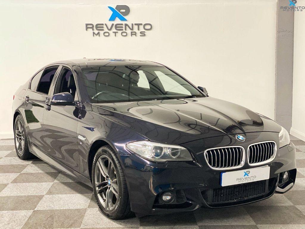 USED 2014 14 BMW 5 SERIES 2.0 520D M SPORT 4d 188 BHP Nav | Leather | Refurb' Alloys