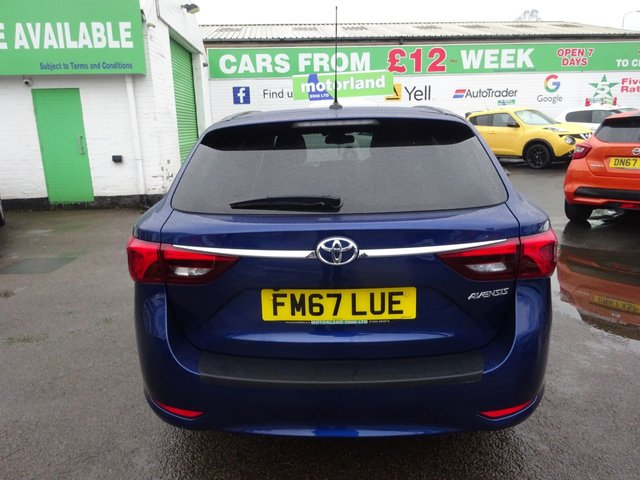 USED 2018 67 TOYOTA AVENSIS 1.6 D-4D DESIGN TOURING SPORTS 5d 110 BHP **CLICK AND COLLECT ON YOUR NEXT CAR**