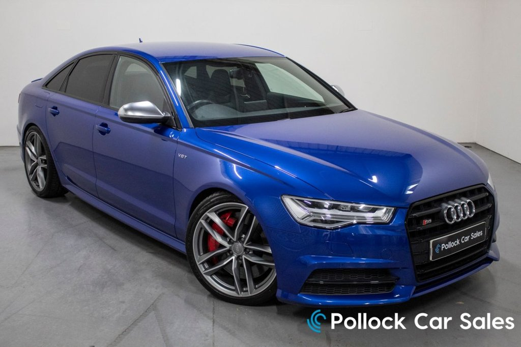 USED 2018 11 AUDI S6 SALOON 4.0 V8 TFSI QUATTRO S6 BLACK EDITION 575 BHP Tech Pack, Wireless charge, Auto dip +++ lots more.