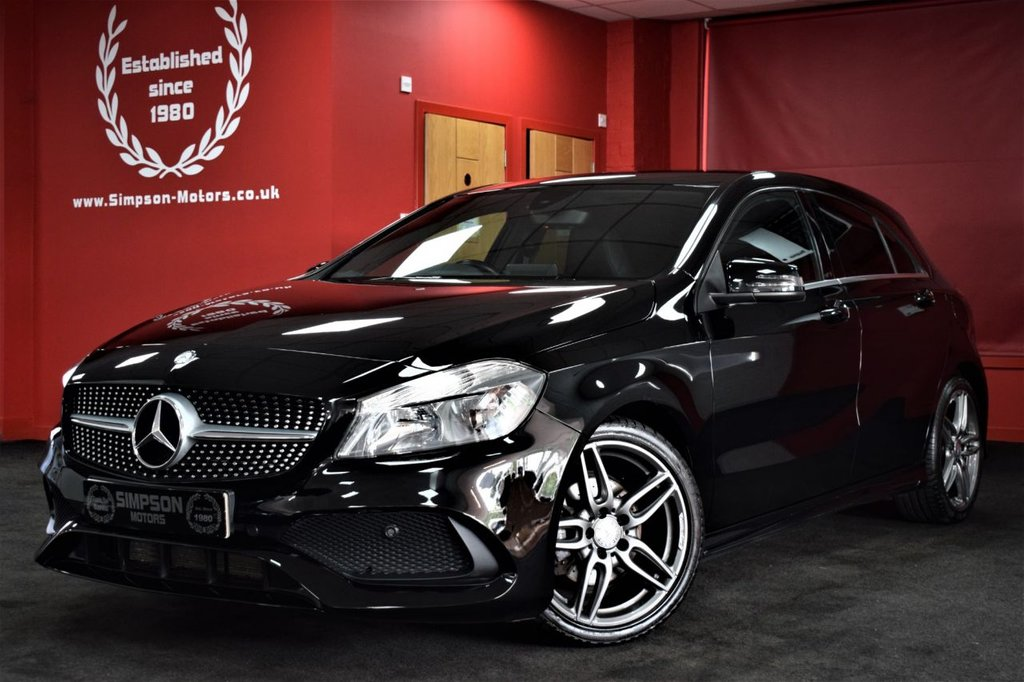 USED 2016 16 MERCEDES-BENZ A-CLASS 1.6 A 180 AMG LINE 5d 121 BHP