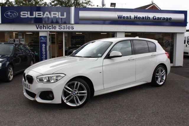 2015 15 BMW 1 SERIES 1.5 116D M SPORT 5d 114 BHP