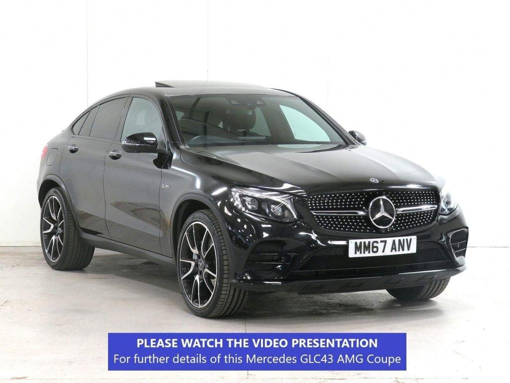 USED 2017 67 MERCEDES-BENZ GLC-CLASS 3.0 GLC43 V6 AMG (Premium Plus) G-Tronic 4MATIC (s/s) 5dr ASSIST PACK**NIGHT PACK**21's