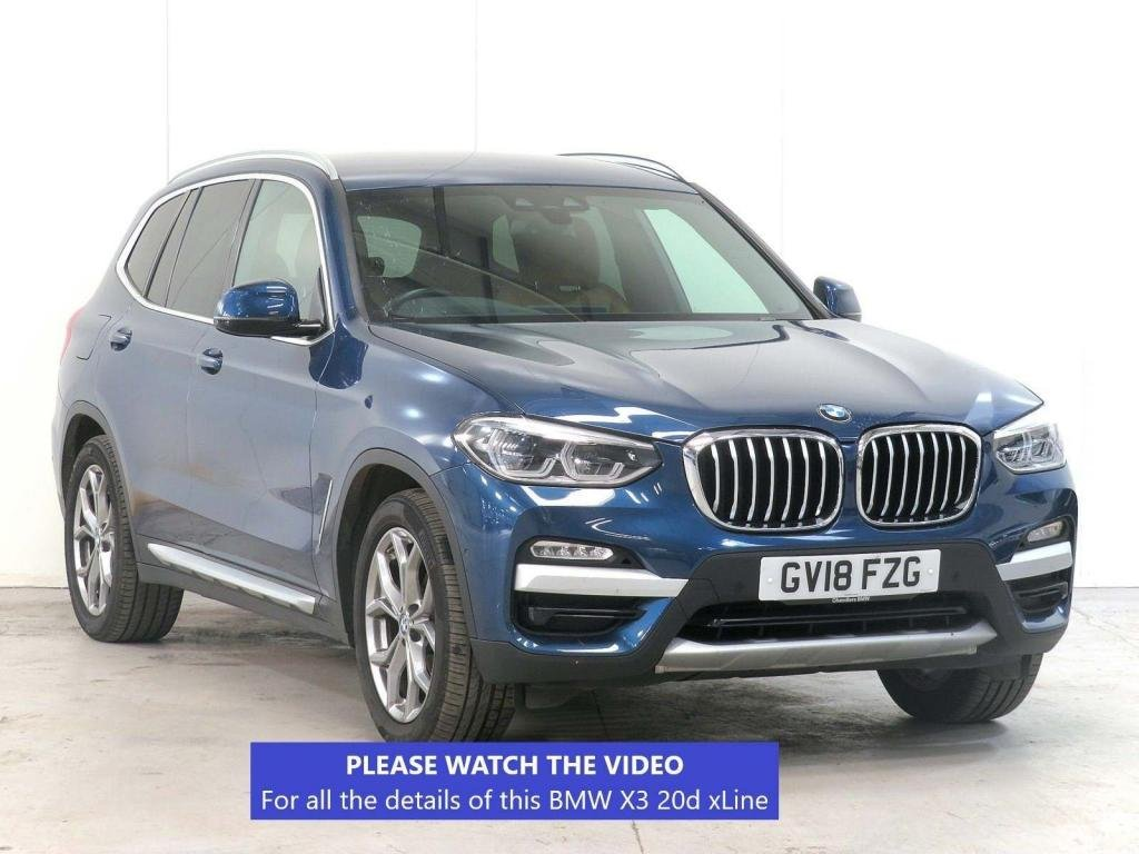 USED 2018 18 BMW X3 2.0 20d xLine Auto xDrive (s/s) 5dr £6,400 OPTIONS*TECH PACK*VAT-Q