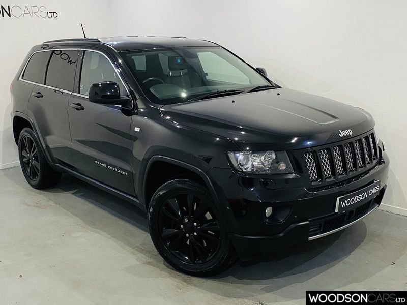 USED 2013 13 JEEP GRAND CHEROKEE 3.0 V6 CRD S-LIMITED 5d 237 BHP Bluetooth / Sat Nav / Reverse Camera / Gloss Black Alloys