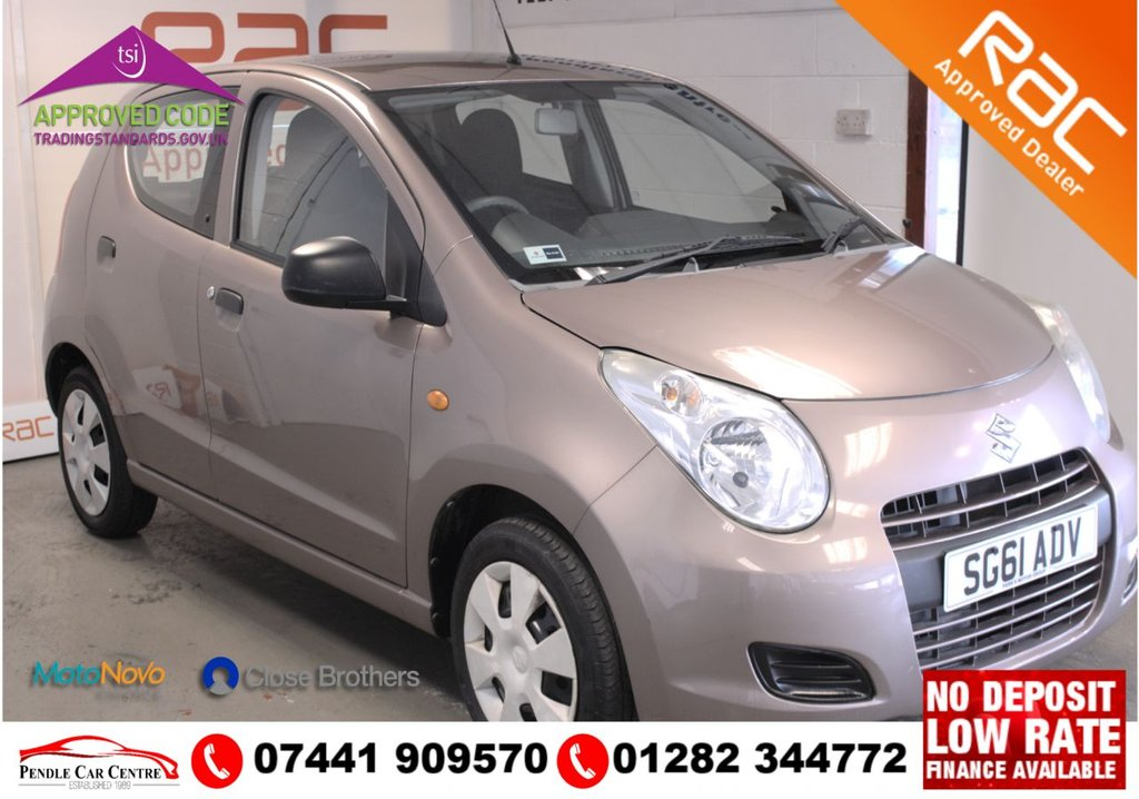USED 2011 61 SUZUKI ALTO 1.0 SZ2 5d 68 BHP RAC Approved Vehicle: Inspected To RAC & Trading Standards Specifications  Key Spec Includes: Electric Front Windows with Drivers Side Auto - Down + Green Tinted Glass + MP3 / WMA Compatible CD Tuner with USB Port + 2 Cup Holders (One Front, One Rear) and 2 Front Bottle Holders
