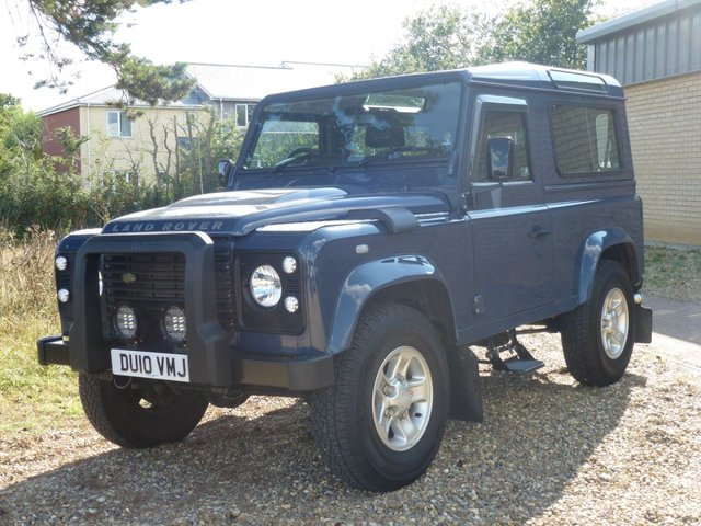 2010 10 LAND ROVER DEFENDER 2.4 90 COUNTY STATION WAGON 3d 122 BHP