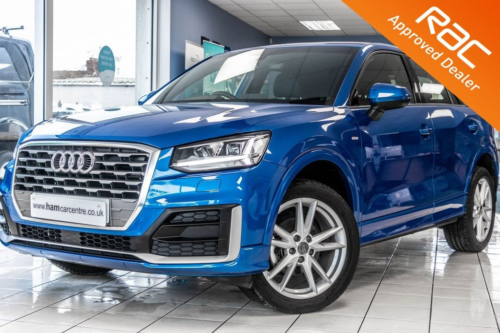 USED 2019 19 AUDI Q2 1.5 TFSI S LINE 5d 148 BHP AUTOMATIC STOP/START LOW-MILES 1 OWNER / AUDI WARRANTY